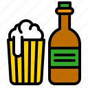 alcoholic, beer, beverage, bottle, drinks icon