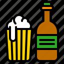 alcoholic, beer, beverage, bottle, drinks