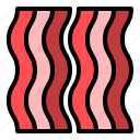 bacon, bbq, food, meat, pork icon