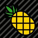food, fruit, juicy, pineapple