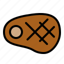 bbq, beef, food, grilled, meat, steak icon