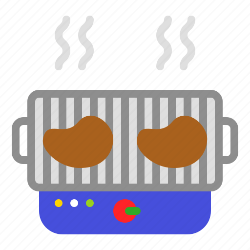 barbecue, barbecue grill, barbeque, bbq, meat icon