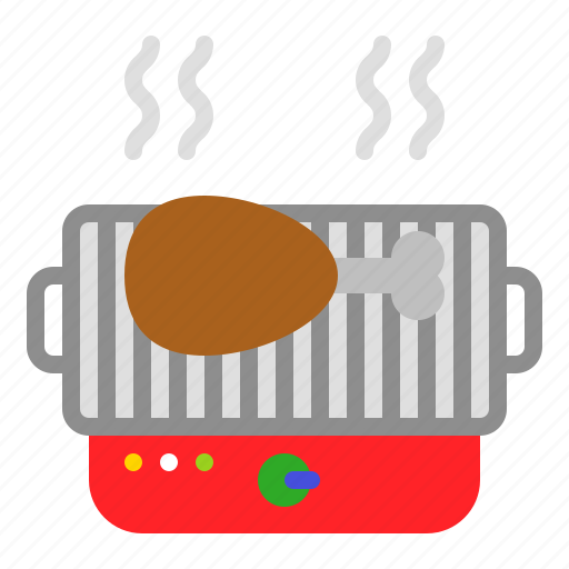 Barbecue, barbecue grill, barbeque, bbq, chicken icon - Download on Iconfinder