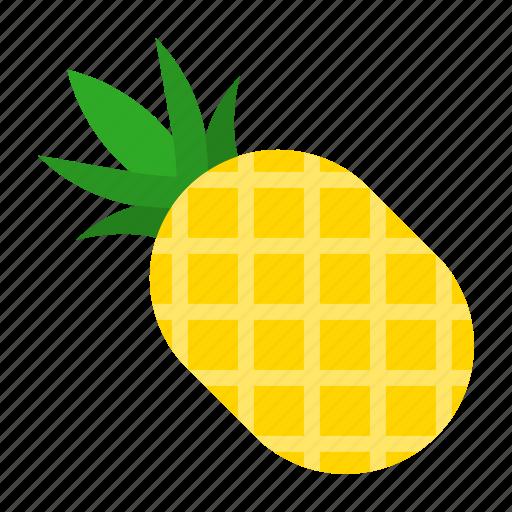 food, fruit, juicy, pineapple icon