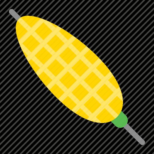 bbq, corn, food, skewer, vegetable icon