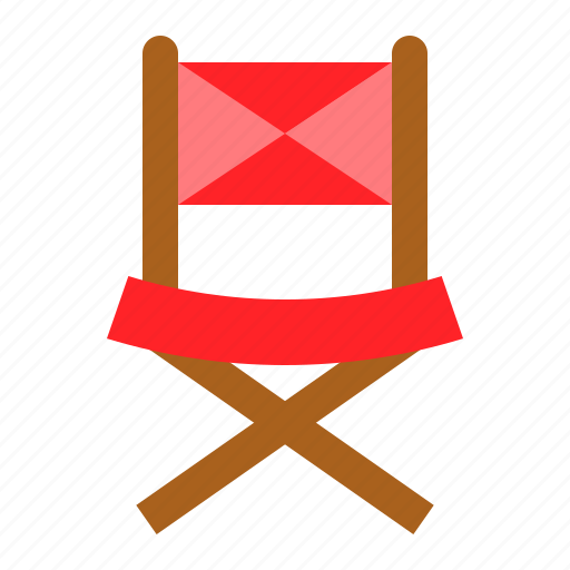 chair, furniture, picnic, picnic chair icon