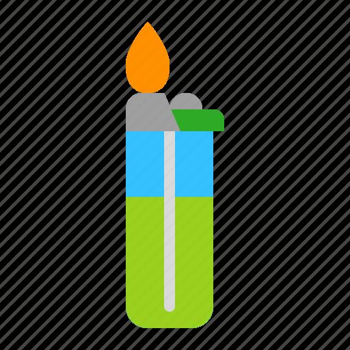 Bbq, fire, ignite, lighter icon - Download on Iconfinder