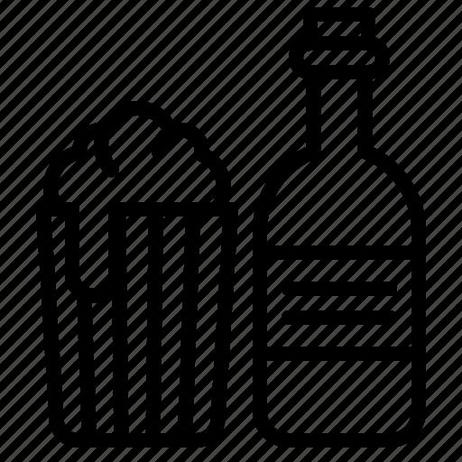 alcoholic, beer, beverage, bottle, drinks icon