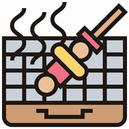 Barbecue, cooking, grill, outdoor, roast icon - Download on Iconfinder