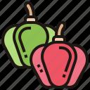 bell, fresh, ingredient, pepper, vegetable