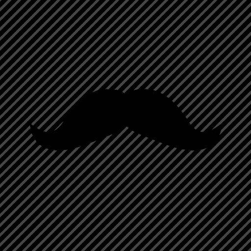 barb, barber, moustache, mustache icon icon