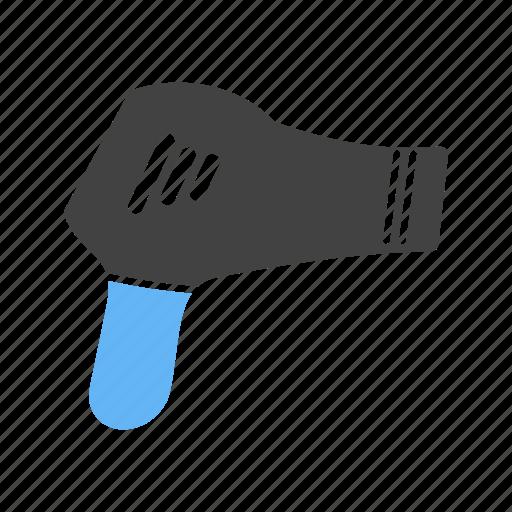 Blow, blower, drier, dryer, hair, hairdryer, style icon - Download on Iconfinder