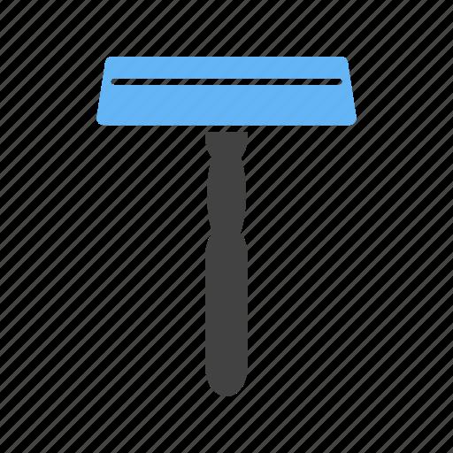 care, disposable, equipment, razor, safety, shaving, steel icon