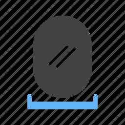 design, frame, image, mirror, reflection, shiny, white icon