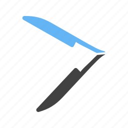 barber, blade, edge, razor, razorblade, sharp, shop icon
