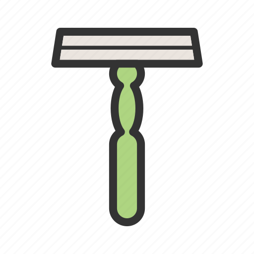 care, disposable, equipment, razor, safety, shaving, steel icon