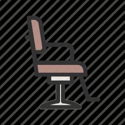 barber, beauty, chair, hair, hairdresser, salon, seat icon