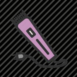 beauty, care, electric, head, razor, skin, trimmer icon