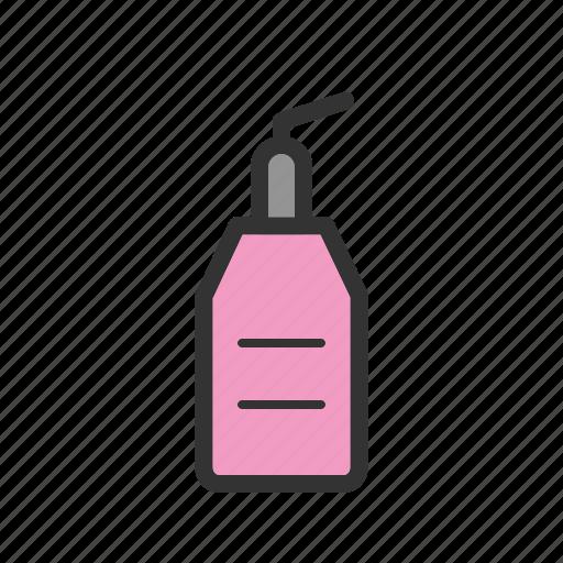beauty, bottle, care, cream, face, facial, skin icon