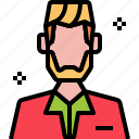 avatar, barber, haircut, man, salon, styling, user icon