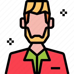 avatar, barber, haircut, man, salon, styling, user icon