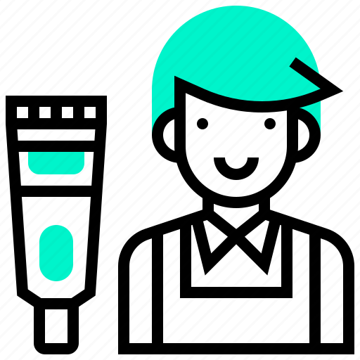 avatar, boy, dresser, hair, man icon