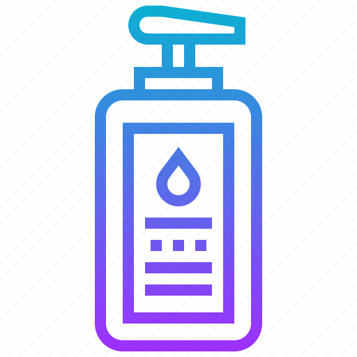bottle, cleanser, cream, lotion icon