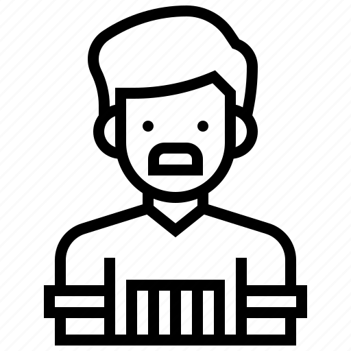 avatar, barber, man, moustache, salon icon