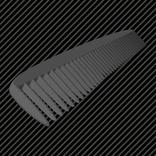 Barber Beauty Cartoon Comb Equipment Hair Hairbrush Icon