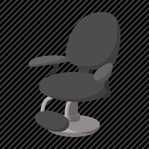 barber, cartoon, chair, comfortable, elegance, hairdresser, modern icon