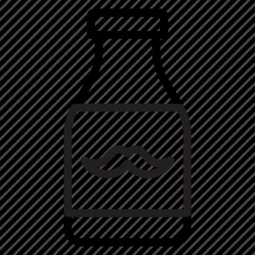 Barbershop, handlebar moustache, man, moustache product, mustache cream icon - Download on Iconfinder
