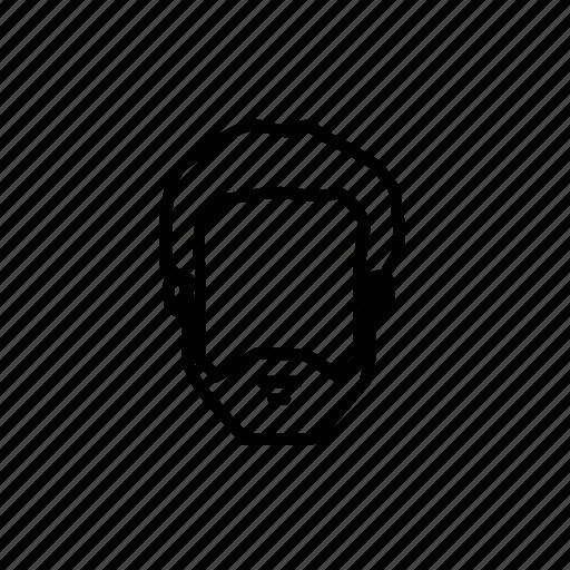 barbershop, face mask, mask icon