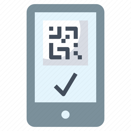 Cellphone, iphone, mobile, phone, qr code, smartphone, technology icon - Download on Iconfinder