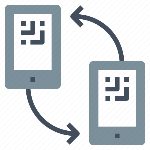 barcode, cellphone, mobile, phone, qr code, smartphone, telephone icon
