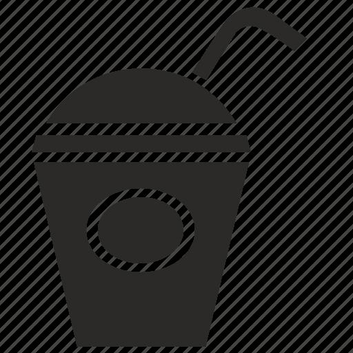 coffee, drink, glass, hot, juice, plastic icon
