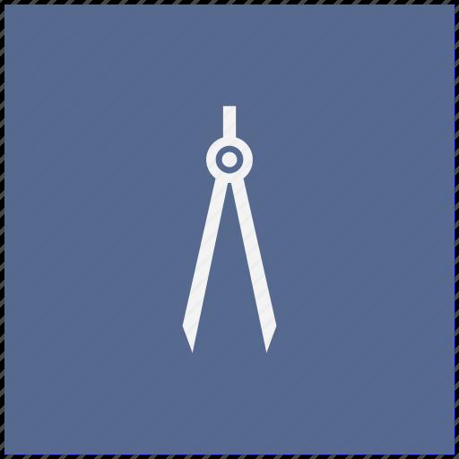 architector, blue, divider, instrument, square icon