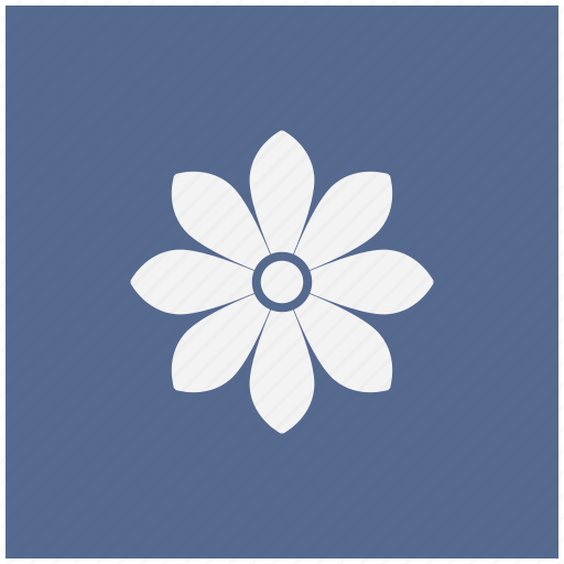 blue, bud, flower, plant, rose, square icon