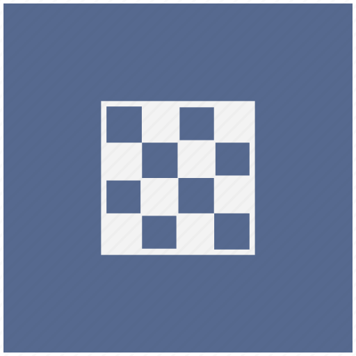 app, blue, chess, game, square icon
