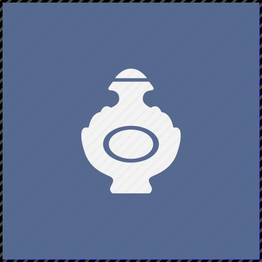 aroma, blue, bottle, lady, parfume, square icon