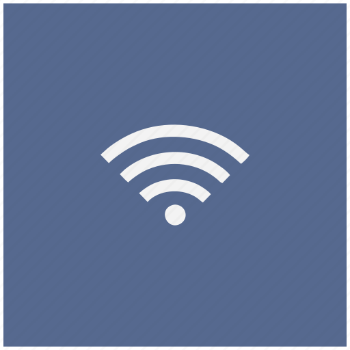 blue, connect, free, internet, square, wifi icon