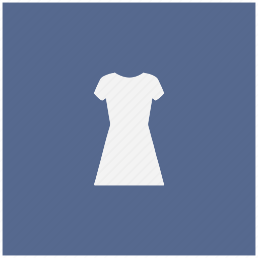 blue, dress, evening, shopping, square, woman icon