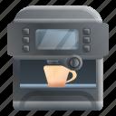 bar, coffee, food, hand, machine, office