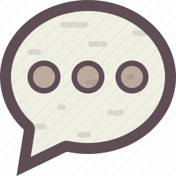 chat, chatting, comment, conversation, dialogue, discussion icon