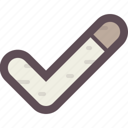accept, approve, checkmark, confirm, done, success icon