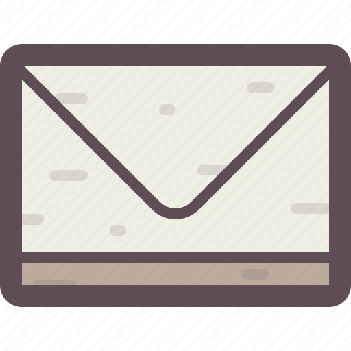 communication, envelope, interaction, letter, mail, message icon