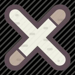 mark, no, remove, stop, trash, x icon