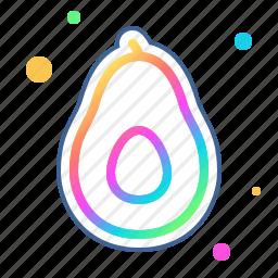 avocado, food, fruit, gastronomy, health, healthy, kitchen icon