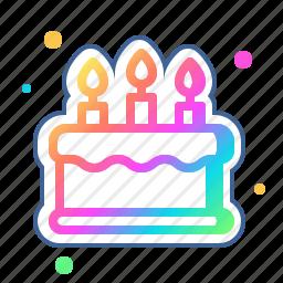 bakery, birthday, cake, dessert, food, sweet icon