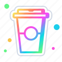 coffee, cup, tea, hot, drink, cafe, beverage icon