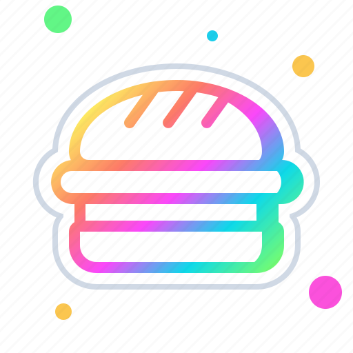 breakfast, burger, cheeseburger, food, hamburger, junk, sandwich icon